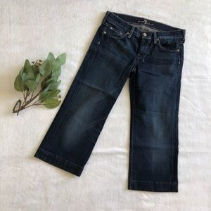 7 For All Mankind Dojo Cropped Jeans